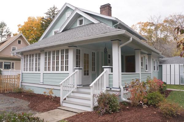 Millie week 10 painted house curb appeal via Year of Serendipity