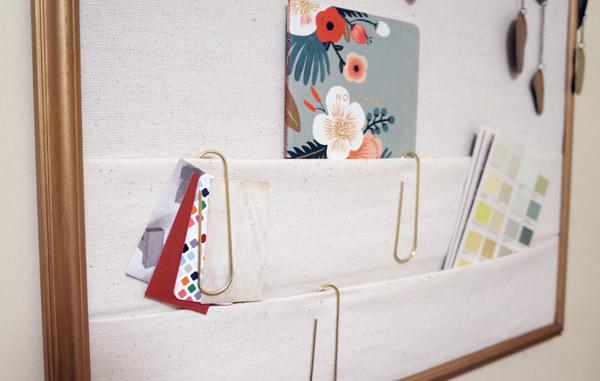 DIY-bulletin-board