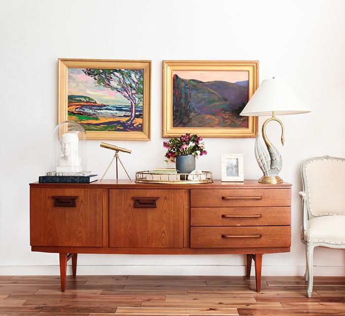 Credenza_4-Ways_Oil-Painting-Masculine-Brass_Mid-Century-Modern-Glam