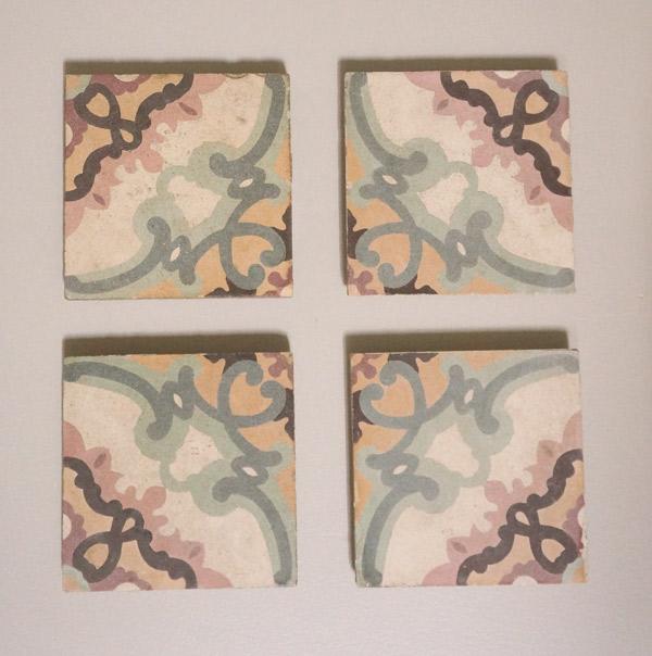 Concrete tile art
