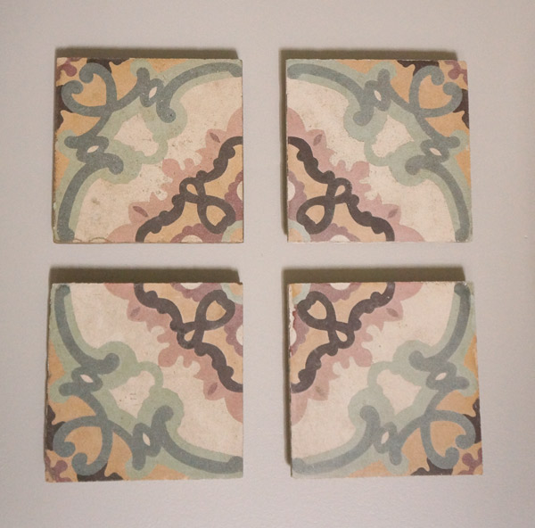 Concrete tile art- alt pattern