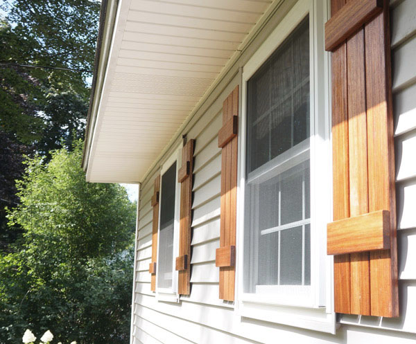 DIY shutters via Year of Serendipity