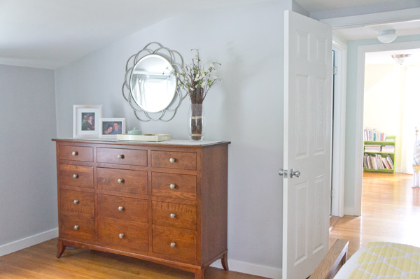 House Crash! Airy Cape Bedroom via Year of Serendipity