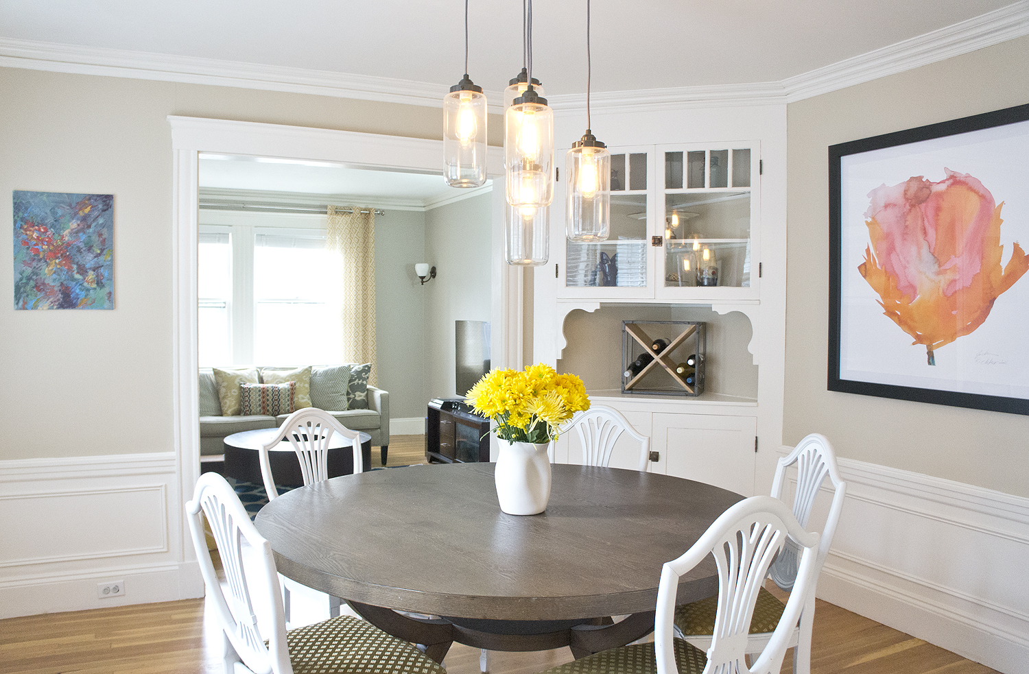 Vibrany Way Interiors Dining room via Year of Serendipity
