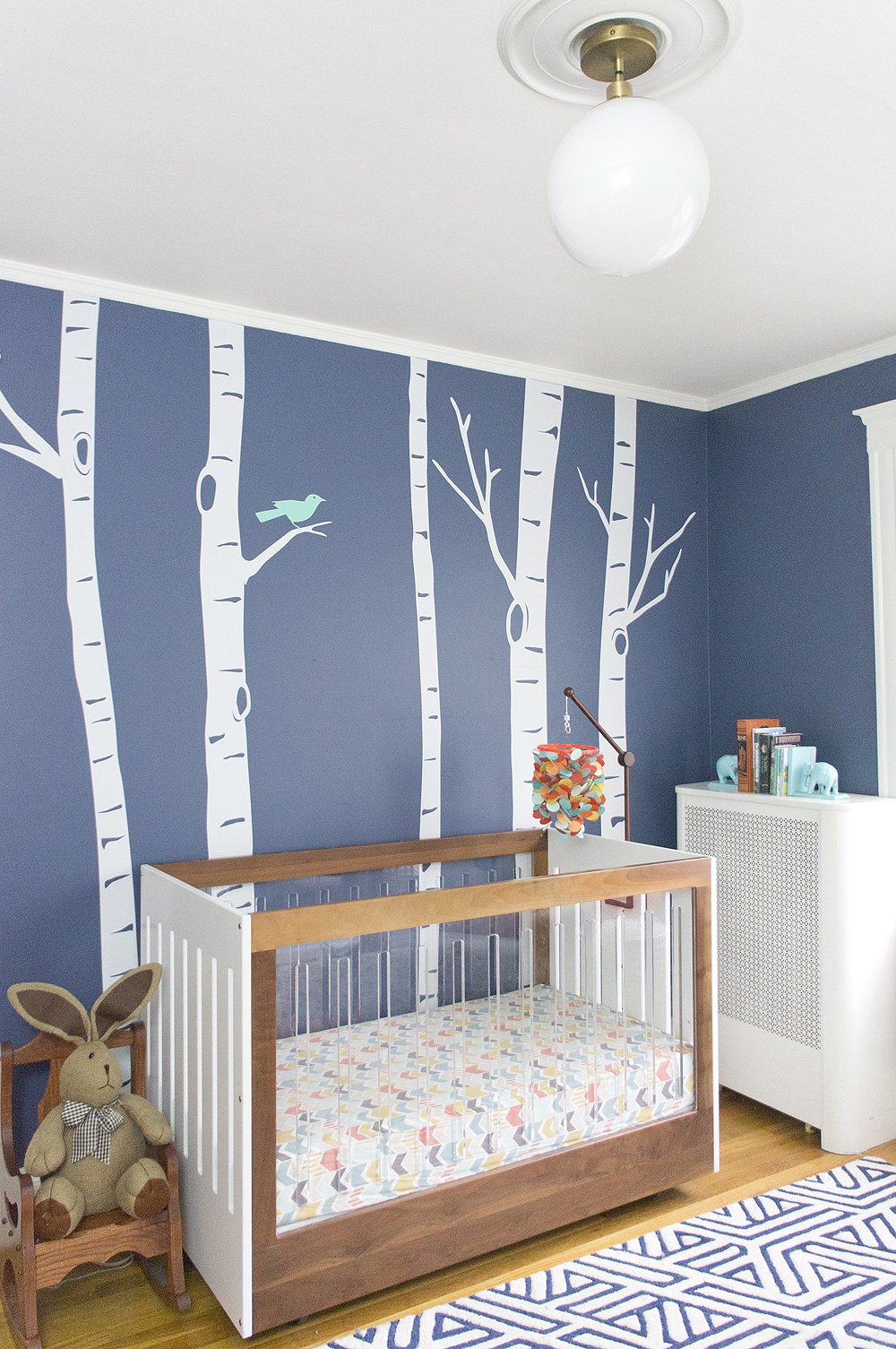 Vibrany Way Interiors Nursery via Year of Serendipity