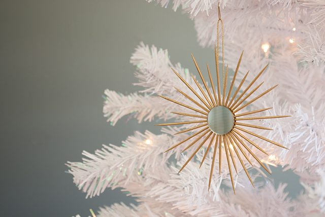 The Gathered Home- gold starburst ornament