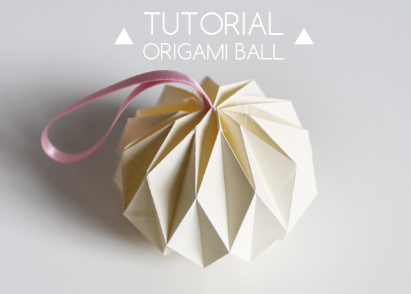 Giochi di Carta- DIY origami ball tutorial