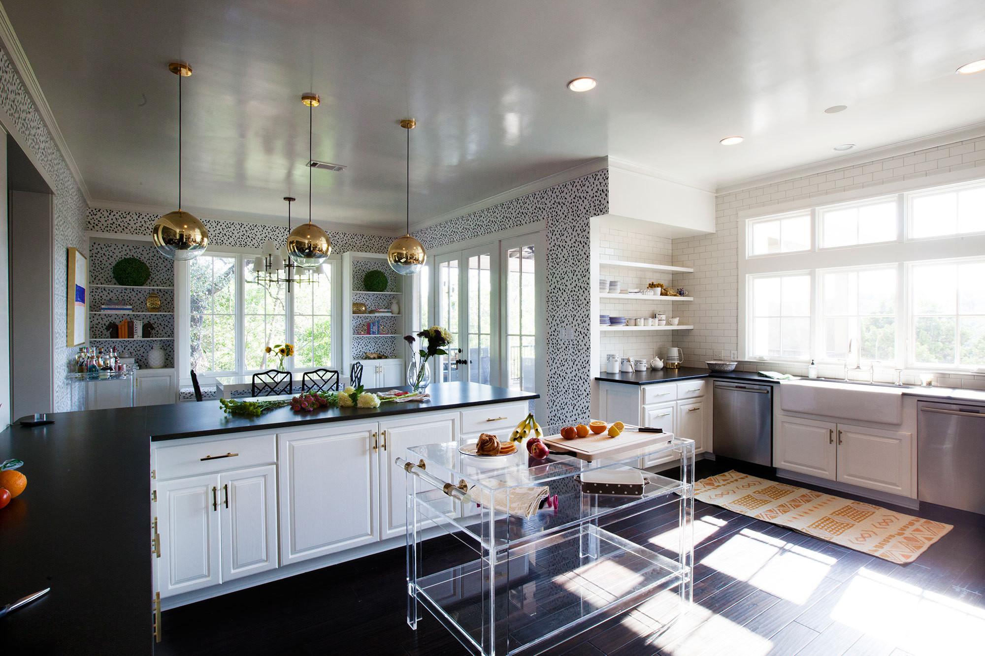 Lonny Lucite Kitchen