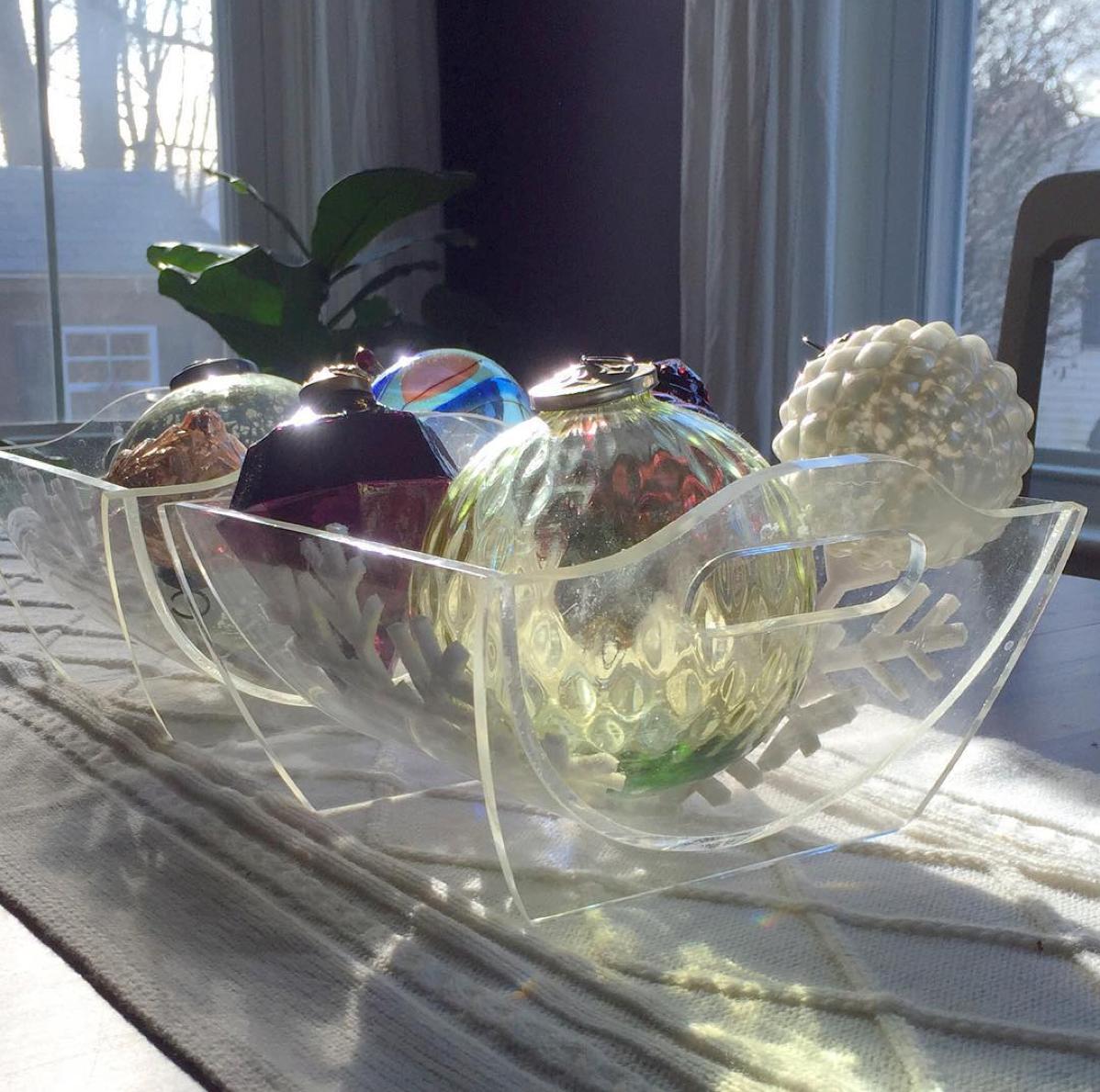 lucite bowls