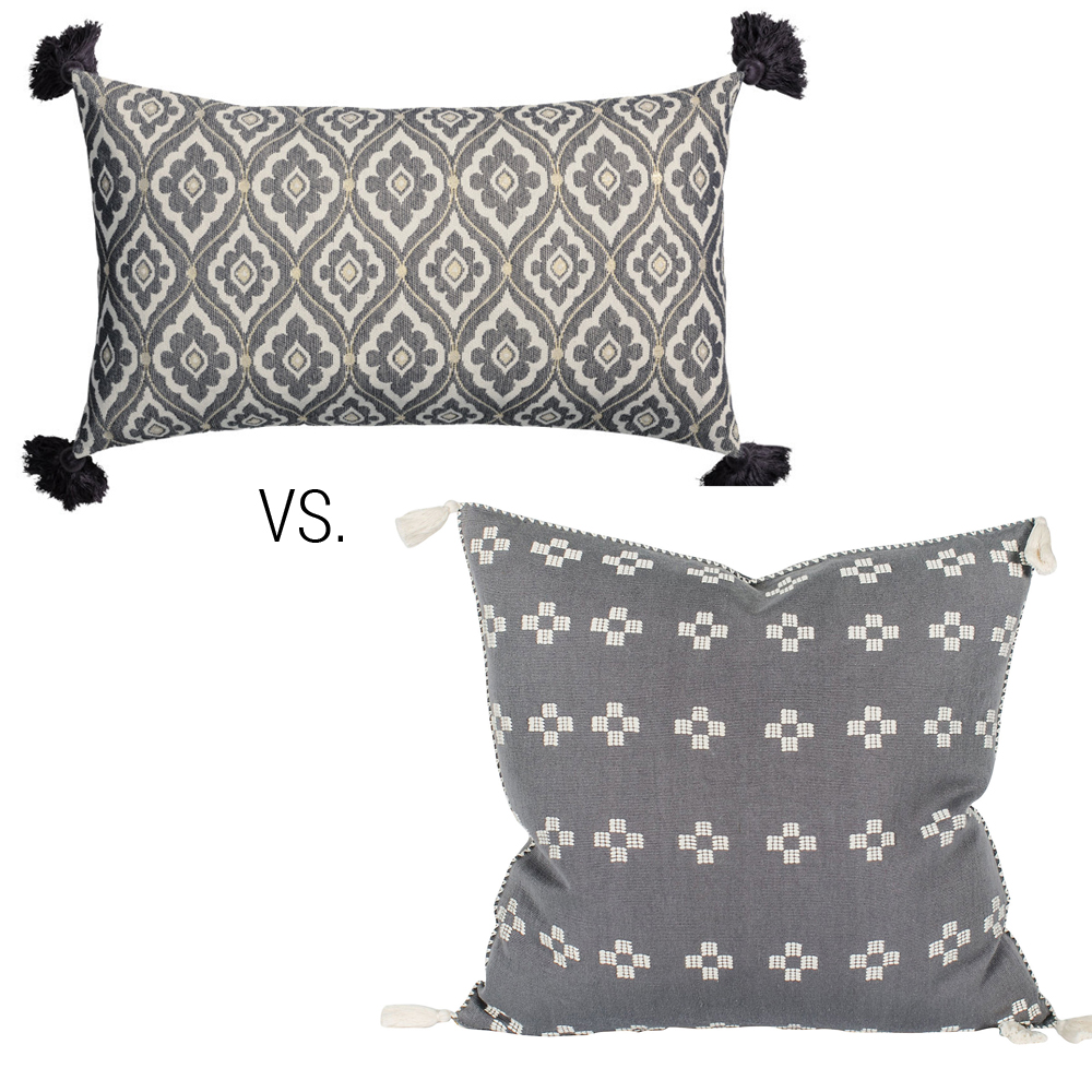 pillow High/low challenge via Year of Serendipity