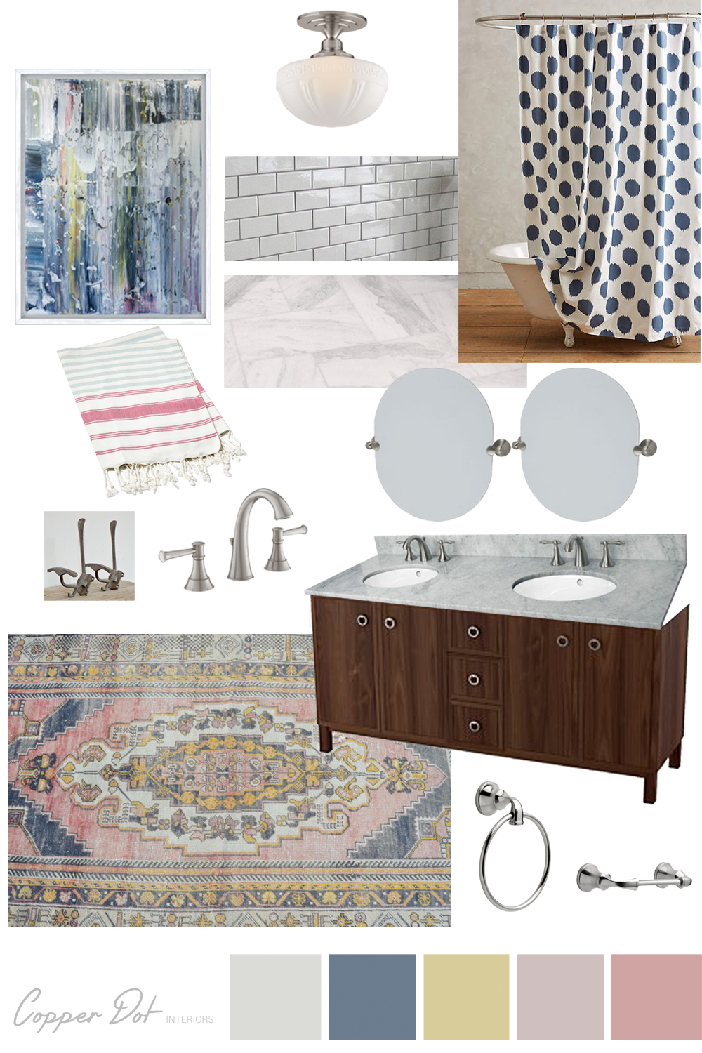 Colors- where to start // Copper Dot Interiors