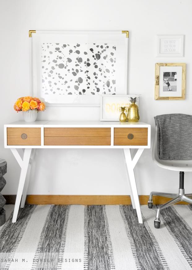 Sarah M. Dorsey Designs, MCM Desk