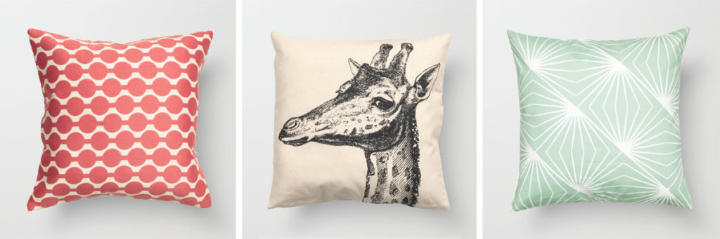 H&M Home pillows