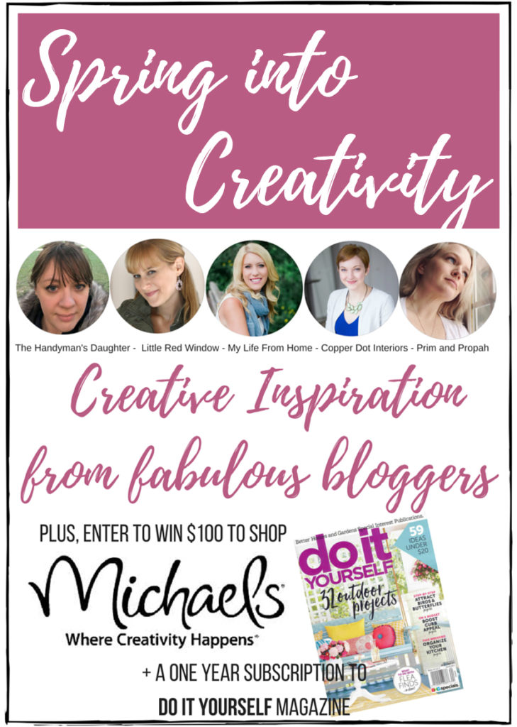 Spring into Creativity DIY and giveaway