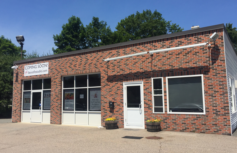 New DanceFIT Studio Exterior