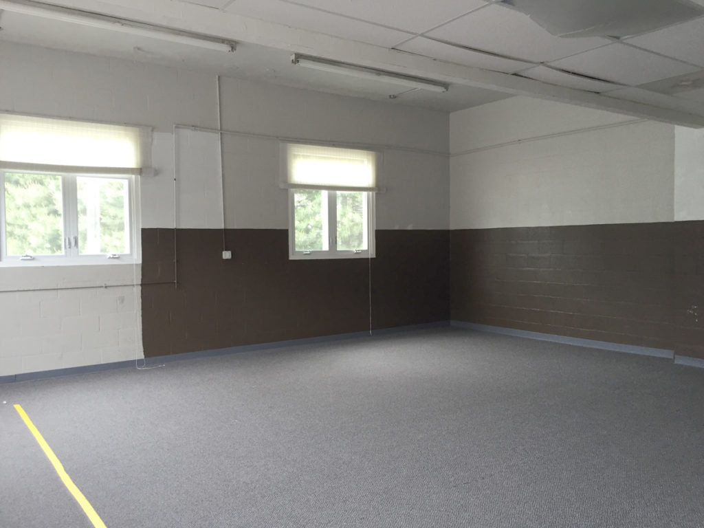 New DanceFIT Studio Interior before