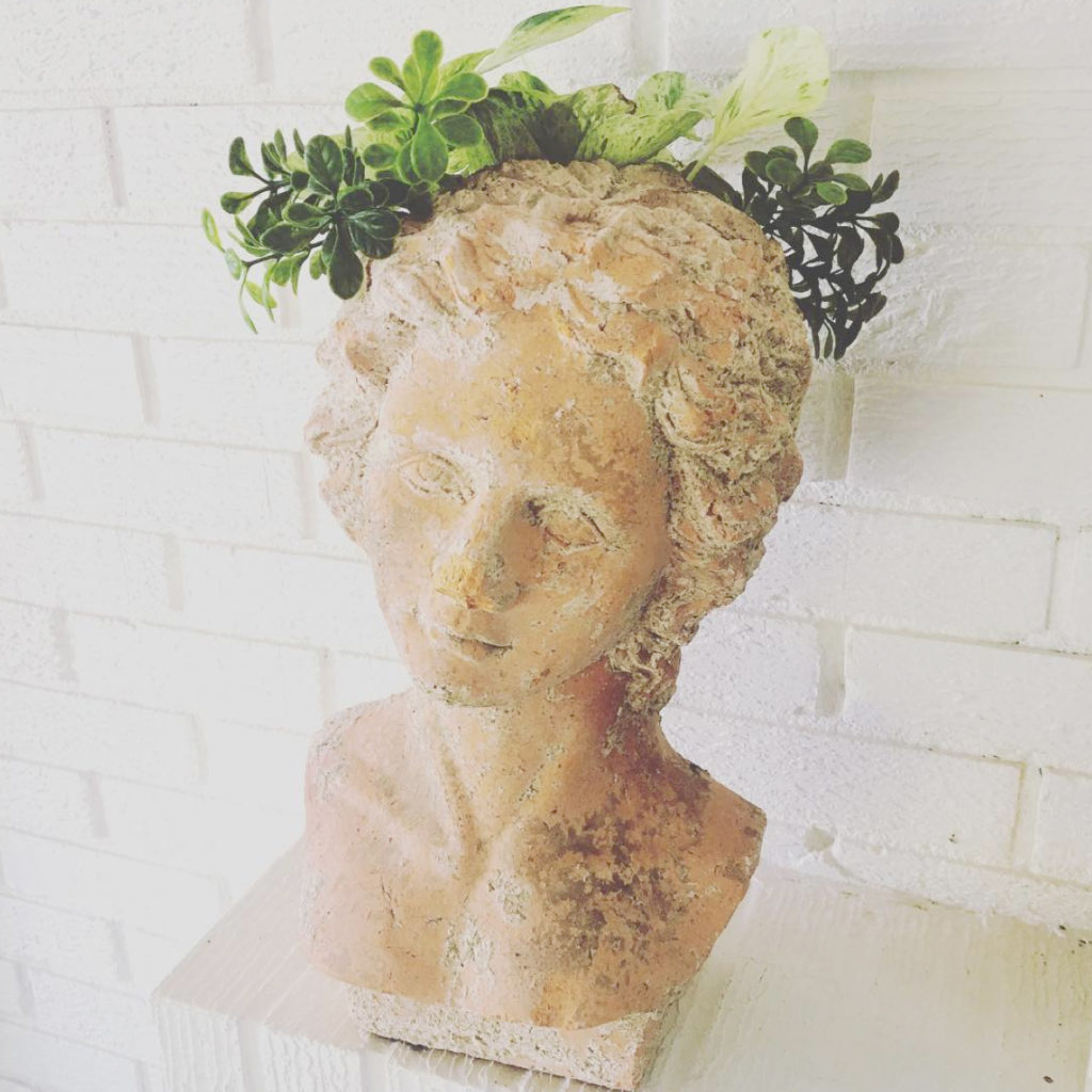 @at_home_in_maywood's thrift score planter bust