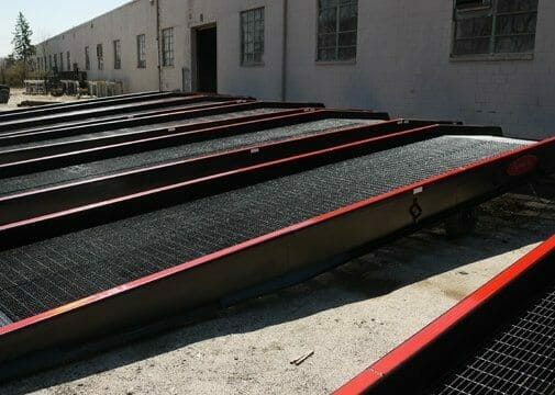 Rental Yard Ramps from Copperloy®