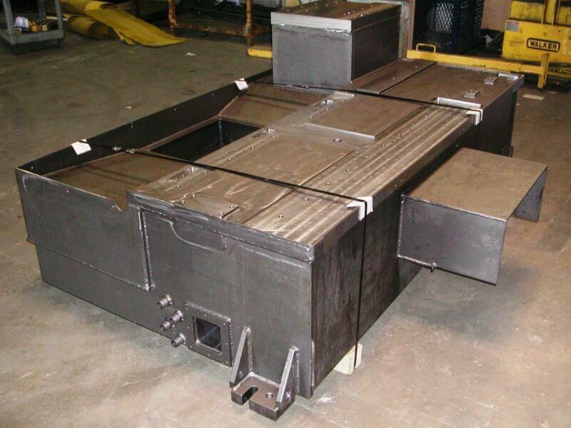 custom steel fabrication equipment