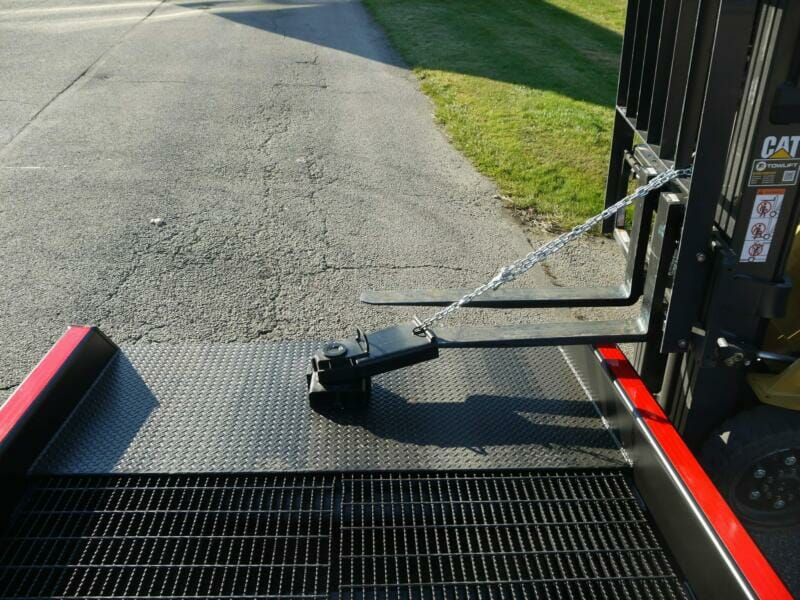 How to Move Portable Truck Ramps   Positioning Sleeve