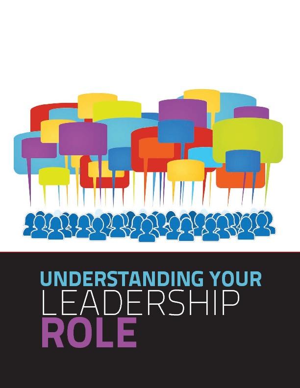 Understanding your leadership role
