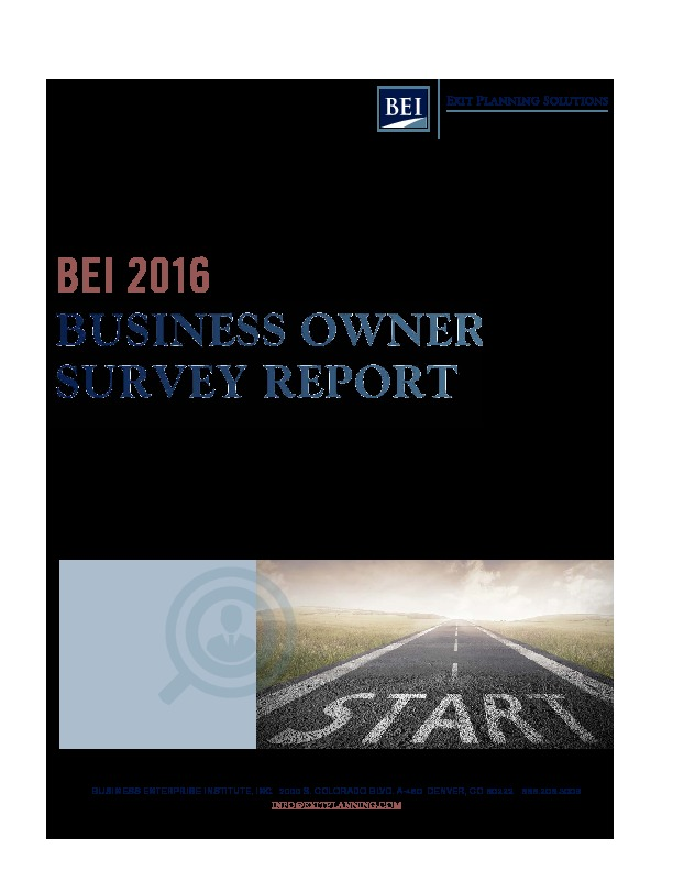 2016 business owner survey final