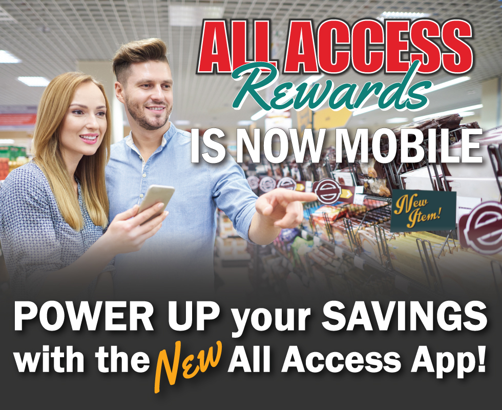 Rays Food Place - All Access Rewards App