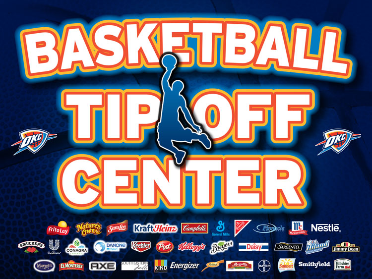 Basketball Tip Off Center
