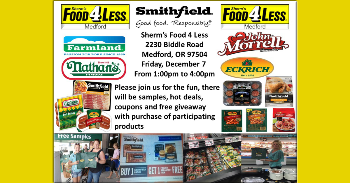 Sherm's Food 4 Less in Medford