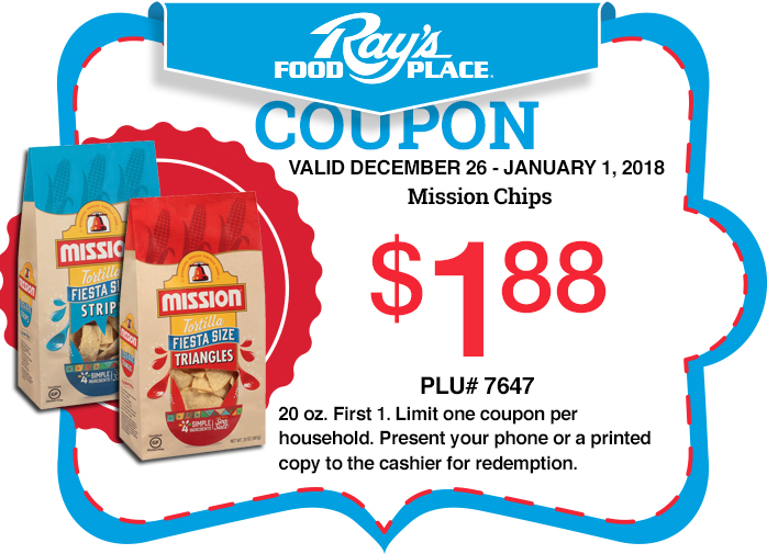 rays food place weekly coupon