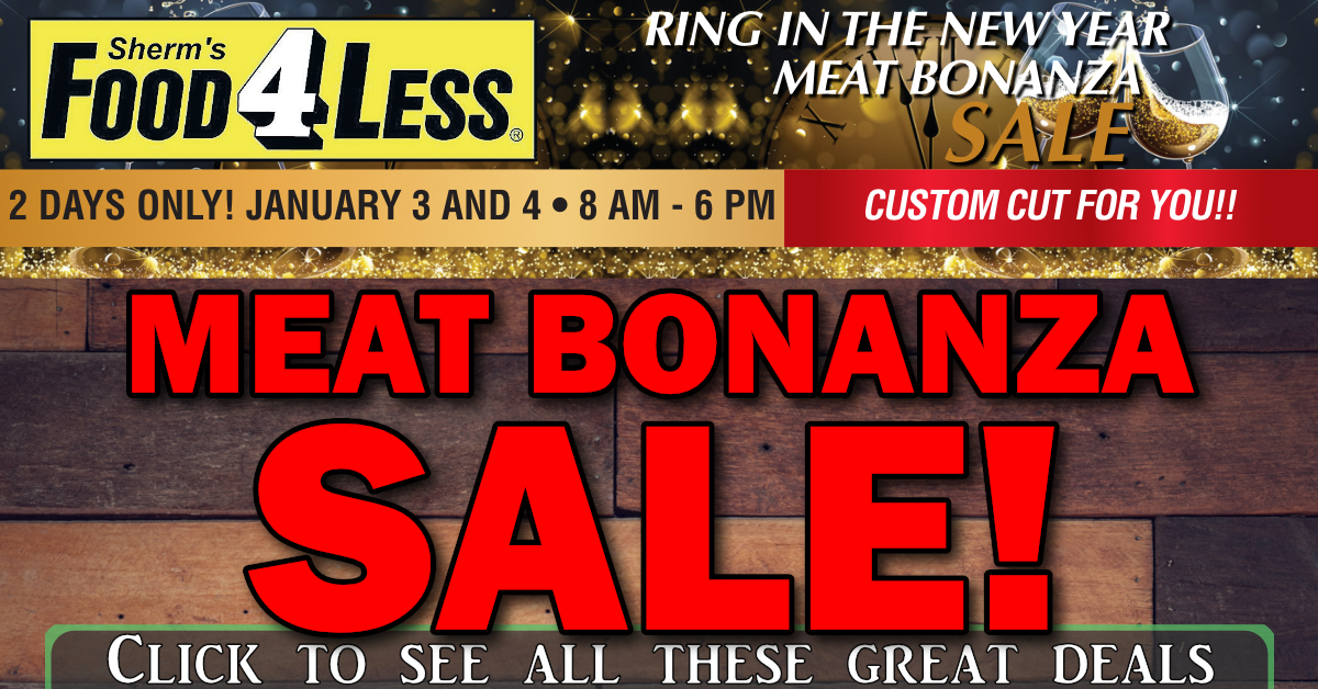 Meat Bonanza Sale