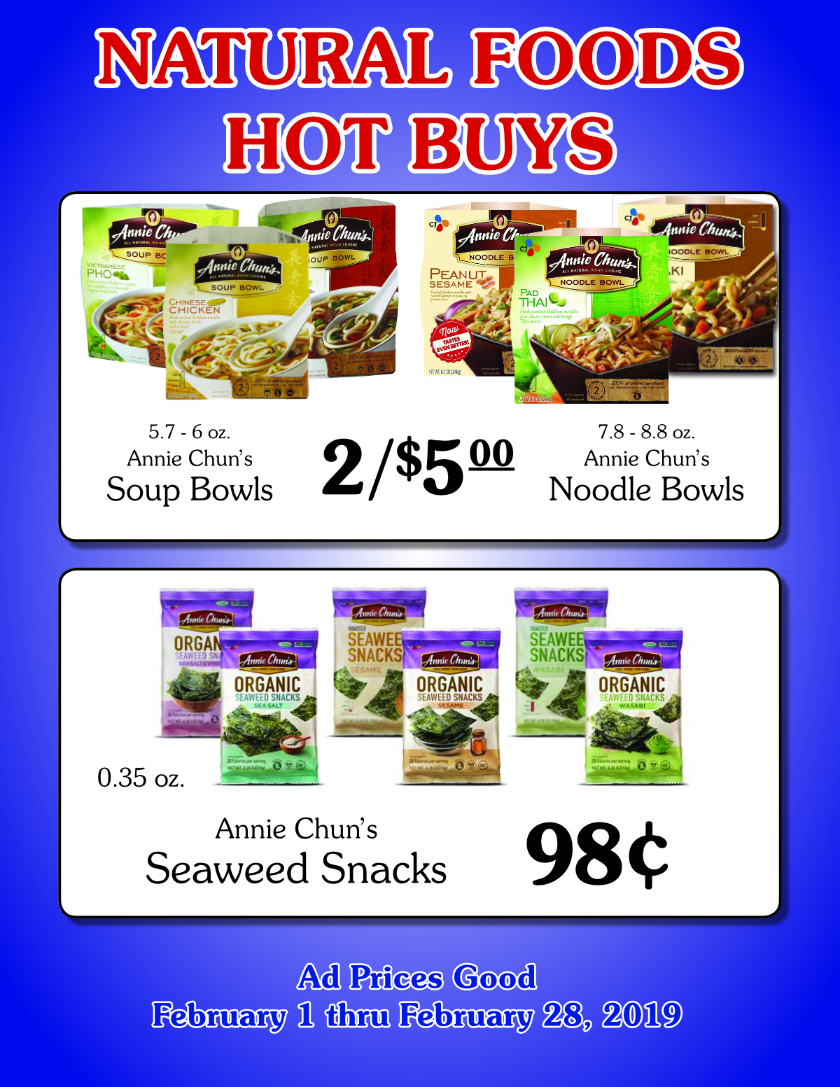 Natural Foods Hot Buy