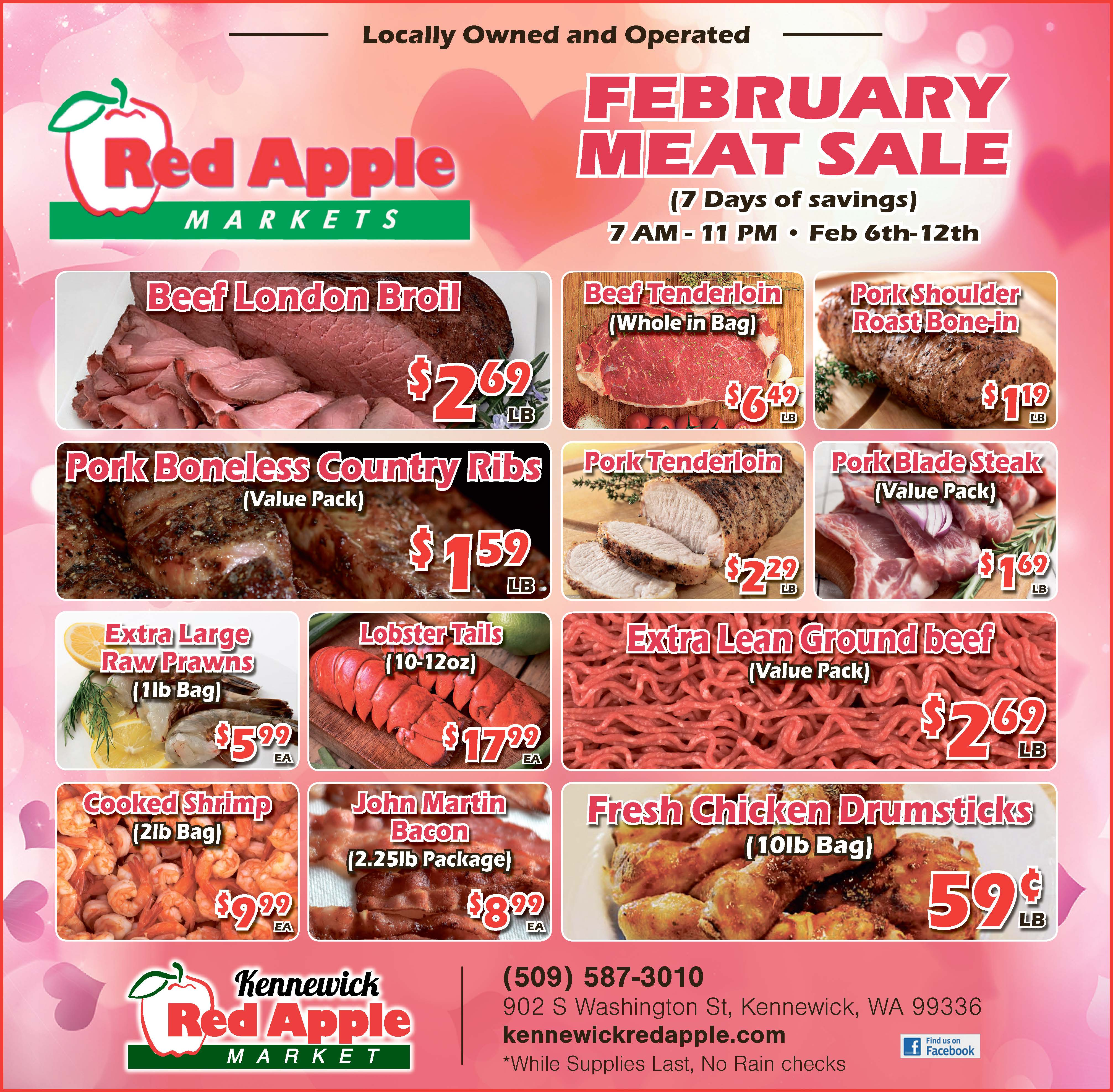 February Meat Sale