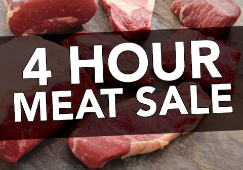4 Hour Meat Sale