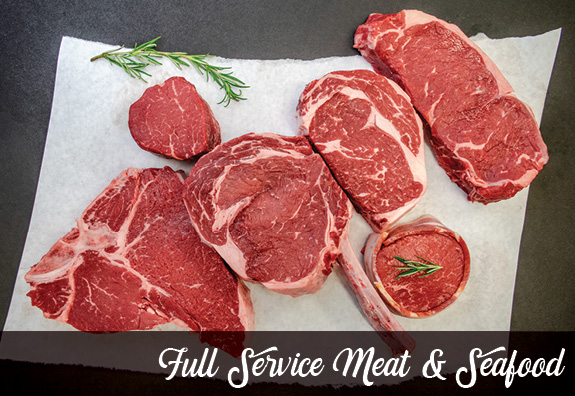 Full Service Meat & Seafood