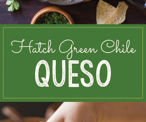 Hatch Green Chile Queso