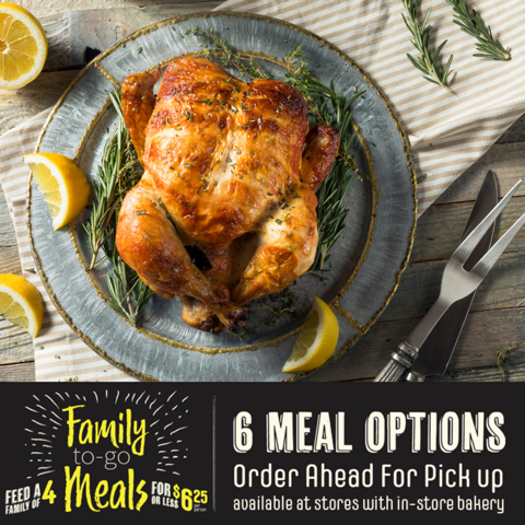 Roasted Chicken Meal Option