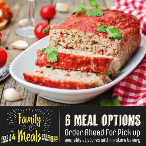 Meatloaf Meal Option