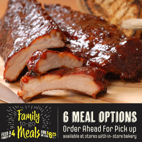 Ribs Meal Option
