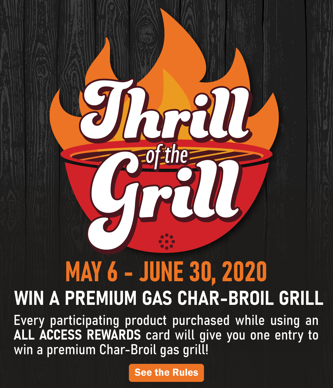 Thrill of the Grill 2020