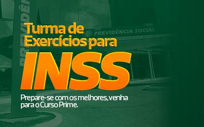 INSS EXERCÍCIOS CHÁ E PRATO EXERCÍCIOS