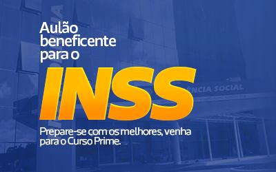 AULÃO BENEFICENTE PARA O INSS