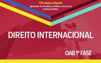 OAB 1ª Fase - Direito Internacional