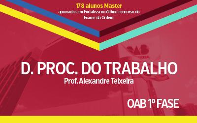 OAB 1ª Fase - Direito Processual do Trabalho