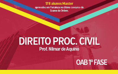 OAB 1ª Fase - Direito Processual Civil
