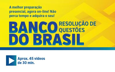Banco do Brasil - Resolução de Questões