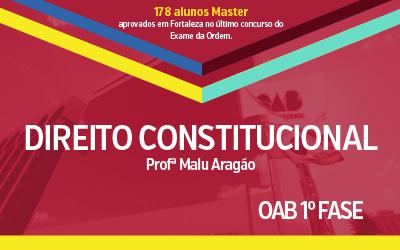 OAB 1ª Fase - Direito Constitucional