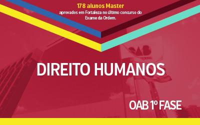 OAB 1ª Fase - Direitos Humanos