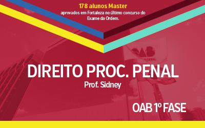 OAB 1ª Fase - Direito Processual Penal