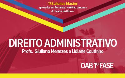 OAB 1ª Fase - Direito Administrativo